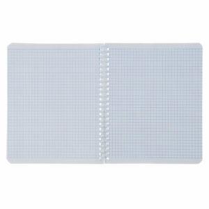 Тетрадь 96 листов клетка на гребне «ЧМ по футболу 2018», мелованный картон, синий