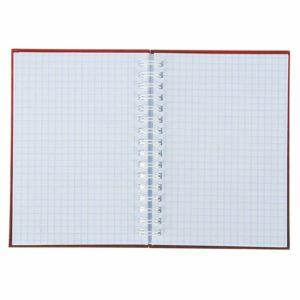 Записная книжка твёрдая обложка А6, 80 листов на гребне «ЧМ по футболу 2018», красная