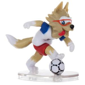 FIFA-2018, Фигурка Волк Забивака, №3, 6 см, 3 штуки в подарочной коробке