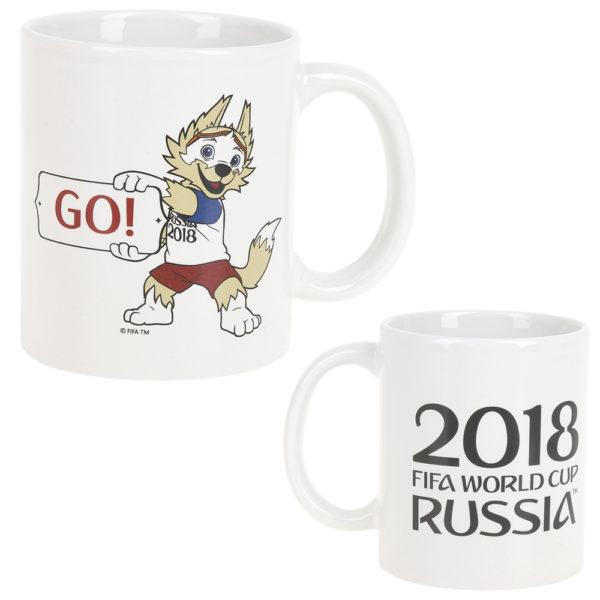 """Кружка керамическая """"Забивака GO! ЧМ 2018"""", 330мл"""