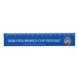 Линейка «ЧМ по футболу 2018», 15 см, пластиковая