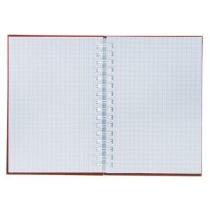 Записная книжка твёрдая обложка А6, 80 листов на гребне «ЧМ по футболу 2018. Эмблема», красная