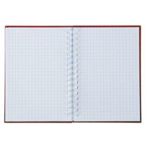 Записная книжка твёрдая обложка А6, 80 листов на гребне «ЧМ по футболу 2018. Талисман», красная
