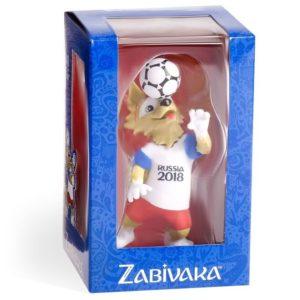 FIFA-2018, Фигурка Zabivaka Header, 9 см в подарочной коробке