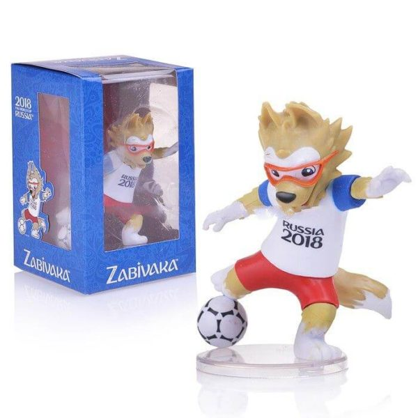 FIFA-2018, Фигурка Zabivaka Kicking, 9 см в подарочной коробке