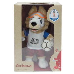 Фигурка плюшевая Zabivaka, 24 см, в подарочной коробке