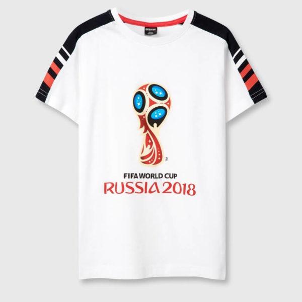 Футболка с принтом FIFA 2018 для мальчиков