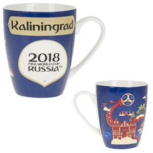 Кружка фарфоровая «ЧМ 2018-Калининград» 360 мл