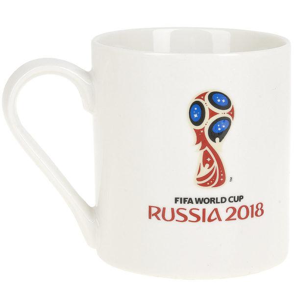 Кружка фарфоровая «ЧМ 2018-Бразилия» 480 мл, подарочная упаковка