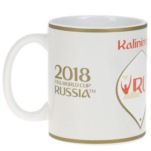 Кружка керамическая «ЧМ 2018-Калининград» 330 мл