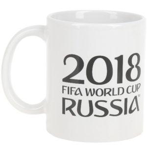 Кружка керамическая «ЧМ 2018» 330 мл