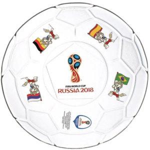 Тарелка десертная 19 см «Футбол» «Фут Пати ЧМ»