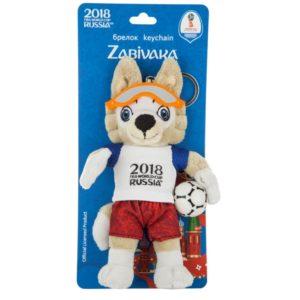 FIFA-2018, Брелок «Волк Забивака», 16 см