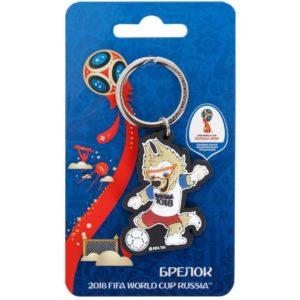 Брелок 2018 FIFA World Cup Russia™ Забивака «Удар!»