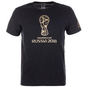 Футболка мужская ЧМ с золотой эмблемой