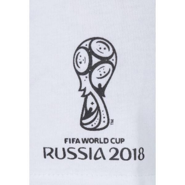 Футболка женская белая ЧМ 2018 Россия