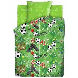 Комплект постельного белья 1,5 бязь «Футбольное поле», 4YOU