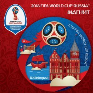 Магнит 2018 FIFA World Cup Russia™ Калининград
