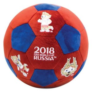 Плюшевый сувенирный мяч-подушка 2018 FIFA World Cup Russia™