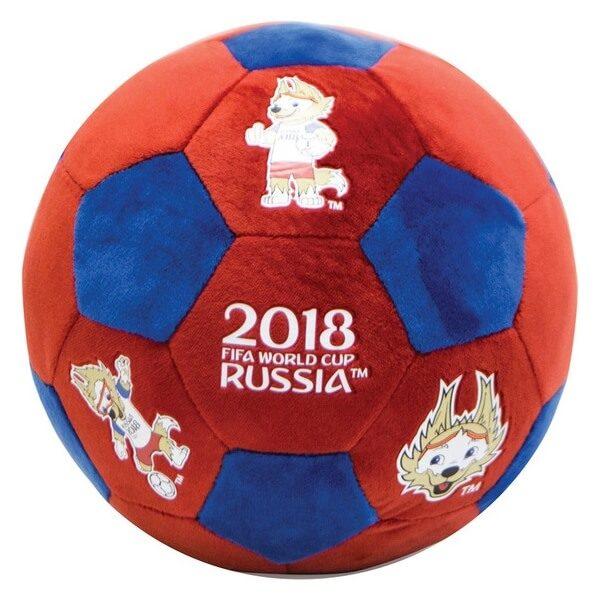 Плюшевый сувенирный мяч-подушка 2018 FIFA World Cup Russia™