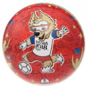 FIFA-2018, Мяч «Забивака красный», ПВХ 15 см