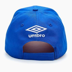 Бейсболка синяя с вышивкой «РОССИЯ» Umbro