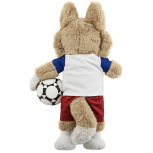 FIFA-2018, «Волк Забивака» игрушка в пакете, 21см